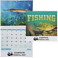 View a larger, more detailed picture of the Fishing Calendar - Spiral