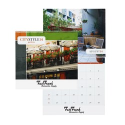 View a larger, more detailed picture of the City Style Gardens Calendar