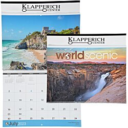 View a larger, more detailed picture of the World Scenic Large Wall Calendar