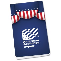 View a larger, more detailed picture of the Full Color Memo Book - Patriotic