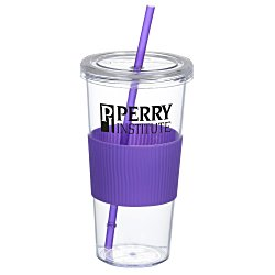 View a larger, more detailed picture of the Burby Tumbler w Straw - 24 oz