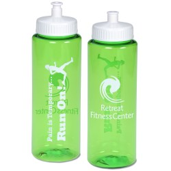 View a larger, more detailed picture of the Pain is Temporary Sport Bottle - 32 oz - Run