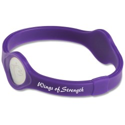View a larger, more detailed picture of the Silicone Performance Bracelet