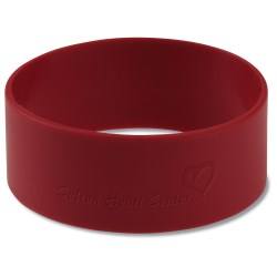 View a larger, more detailed picture of the Custom Silicone Bracelet - 1
