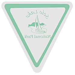 View a larger, more detailed picture of the Value Static Decal - Triangle - 3 x 3