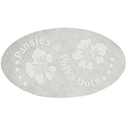 View a larger, more detailed picture of the Embossed Seal by the Roll - Oval - 1-1 2 x 2-5 8
