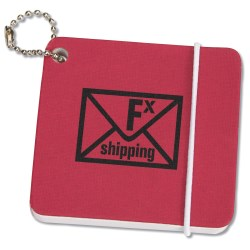 View a larger, more detailed picture of the Jotter On A Keychain - Closeout