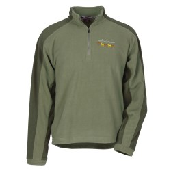 View a larger, more detailed picture of the Color Block Microfleece Pullover