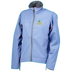 View a larger, more detailed picture of the Manchester Bonded Microfiber Jacket - Ladies