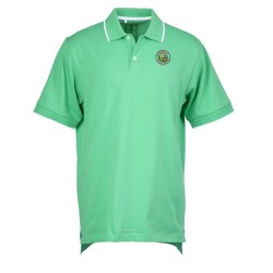 View a larger, more detailed picture of the Adidas ClimaLite Tour Jersey Polo - Men s