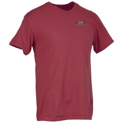 View a larger, more detailed picture of the Fruit of the Loom Garment Dyed T-Shirt - Embroidered
