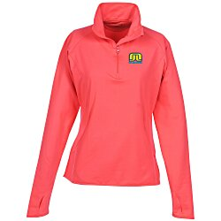 View a larger, more detailed picture of the Sport-Wick Stretch 1 2 Zip Pullover - Ladies