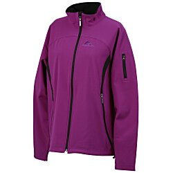 View a larger, more detailed picture of the North End 3-Layer Soft Shell Jacket - Ladies