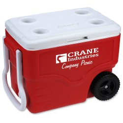 View a larger, more detailed picture of the Coleman 40 Qt Wheeled Cooler