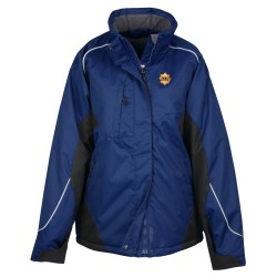 View a larger, more detailed picture of the North End Color Block Insulated Jacket - Ladies
