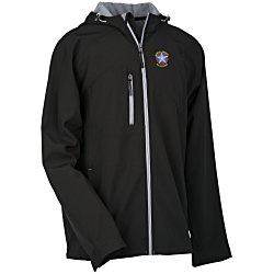 View a larger, more detailed picture of the North End Hooded Soft Shell Jacket - Men s
