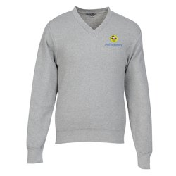 View a larger, more detailed picture of the Ultra-Soft Cotton V-Neck Sweater - Men s