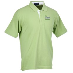 View a larger, more detailed picture of the Velocity Piped Placket Polo - Men s