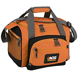 View a larger, more detailed picture of the 12-Can Convertible Duffel Cooler - Full Color