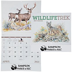 View a larger, more detailed picture of the Wildlife Trek Calendar - Stapled