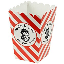 View a larger, more detailed picture of the Scoop-Style Popcorn Box - Medium