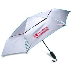 View a larger, more detailed picture of the ShedRays Auto Open Close Vented Umbrella - 43 Arc