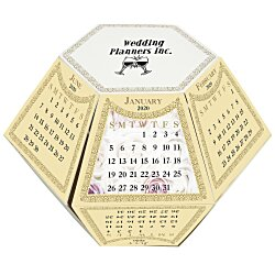 View a larger, more detailed picture of the Pop Up Calendar - Wedding