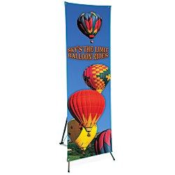 View a larger, more detailed picture of the Value Banner w Pop-Up Stand