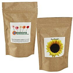View a larger, more detailed picture of the Sprout Pouch - 4 oz - Sunflower