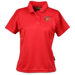 View a larger, more detailed picture of the Moisture Wicking Microfiber Jersey Polo - Ladies