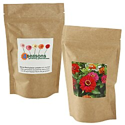 View a larger, more detailed picture of the Sprout Pouch - 4 oz - Zinnia