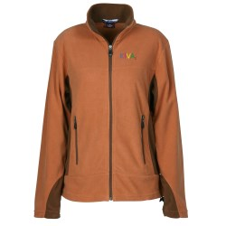 View a larger, more detailed picture of the Revelstoke Microfiber Fleece Jacket - Ladies