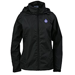 View a larger, more detailed picture of the Lightweight Hooded Jacket - Ladies