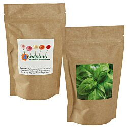 View a larger, more detailed picture of the Sprout Pouch - 4 oz - Basil