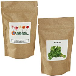 View a larger, more detailed picture of the Sprout Pouch - 4 oz - Cilantro