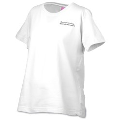 View a larger, more detailed picture of the L A T Sportswear Ladies Maternity Top - White