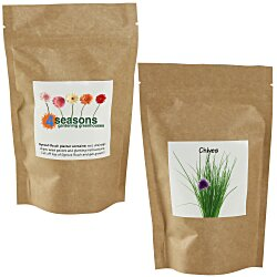 View a larger, more detailed picture of the Sprout Pouch - 4 oz - Chives