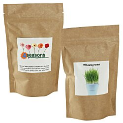 View a larger, more detailed picture of the Sprout Pouch - 4 oz - Wheatgrass