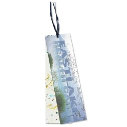 View a larger, more detailed picture of the Seeded Message Bookmark - Basil
