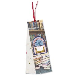 View a larger, more detailed picture of the Seeded Message Bookmark - Scarlet Sage