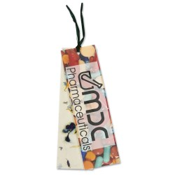View a larger, more detailed picture of the Seeded Message Bookmark - Dill