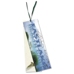 View a larger, more detailed picture of the Seeded Message Bookmark - Thai Basil