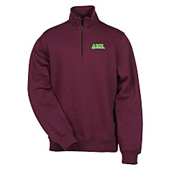 View a larger, more detailed picture of the Athletic Fit 1 4 Zip Sweatshirt - Men s