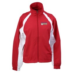 View a larger, more detailed picture of the 5-in-1 Performance Warm-Up Jacket - Ladies