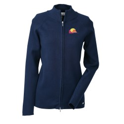 View a larger, more detailed picture of the Il Migliore Full Zip Cardigan Sweater - Ladies