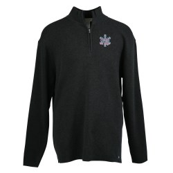 View a larger, more detailed picture of the Il Migliore Half Zip Sweater - Men s