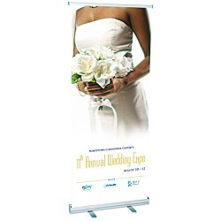 View a larger, more detailed picture of the Value Retractable Roll-Up Banner