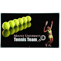 View a larger, more detailed picture of the Mesh Banner - 4 x 6