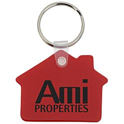 View a larger, more detailed picture of the House Soft Key Tag - Opaque