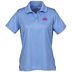View a larger, more detailed picture of the Harriton Moisture Wicking Polo - Ladies